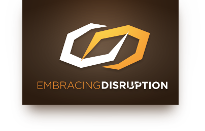 Embracing Disruption Podcast - header Logo